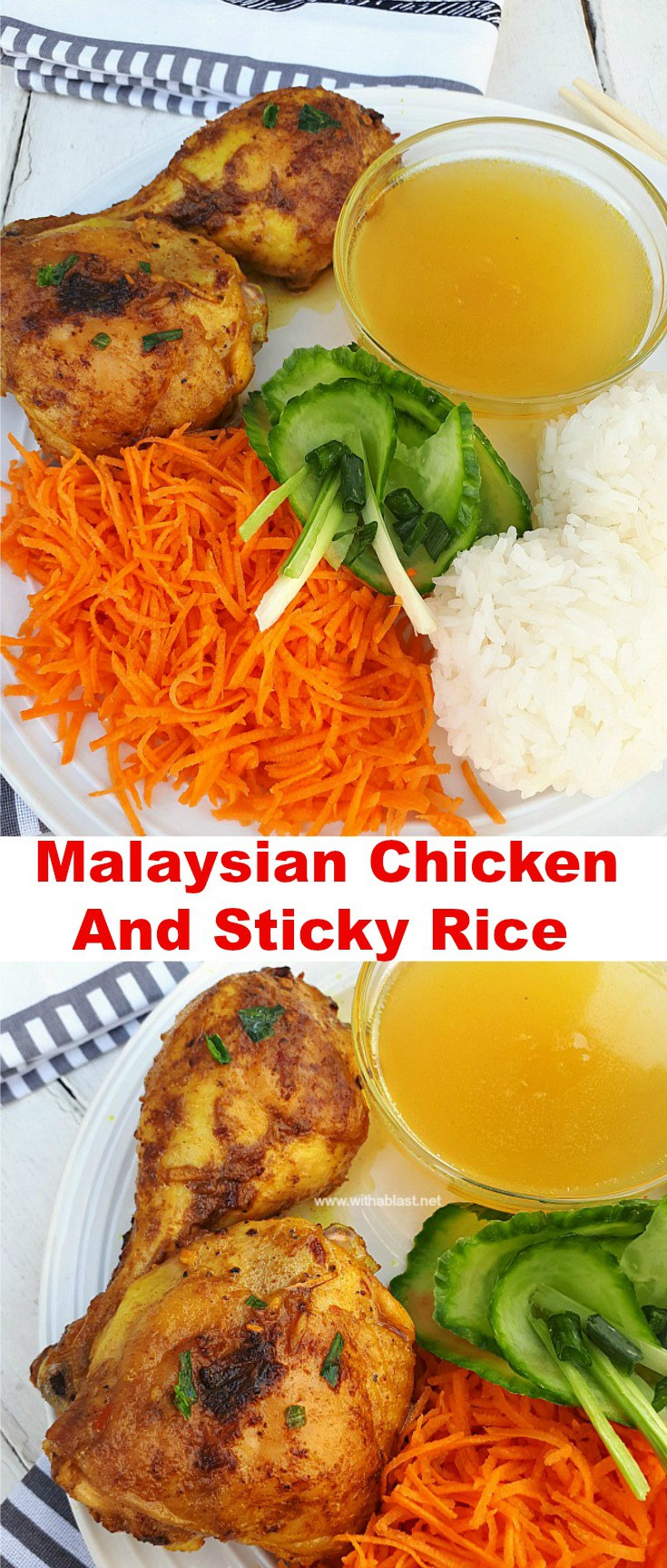 Malaysian Chicken and Sticky Rice