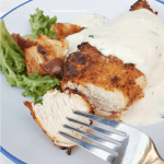 Pecorino Chicken And Garlic Sour Cream Sauce