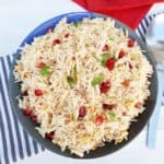 Pomegranate Almond Rice (Christmas Rice)