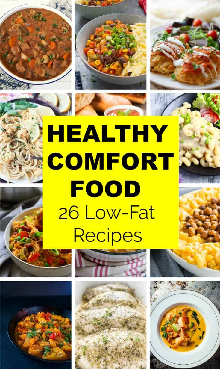 Healthy Comfort Food (Low-Fat)