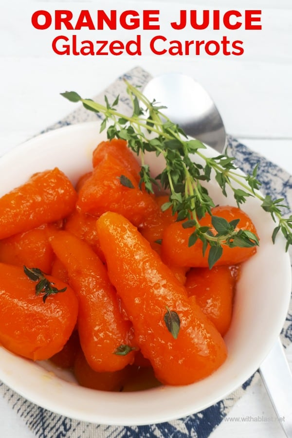 Orange Juice Glazed Carrots are sweet, sticky delicious and a must have side dish recipe, which goes well with any main dish. Quick and easy recipe and always a winner on any occasion