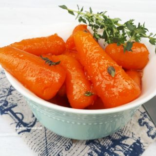 Orange Juice Glazed Carrots