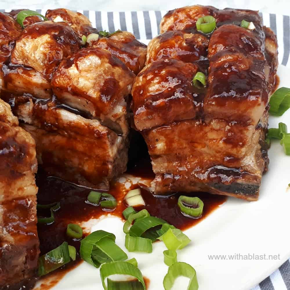 Sticky Pork Belly (Asian Inspired)