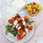 Chicken Tikka with Mango Salad
