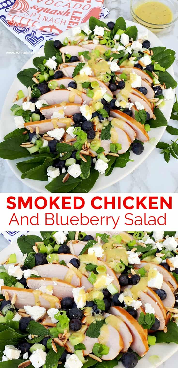Smoked Chicken And Blueberry Salad