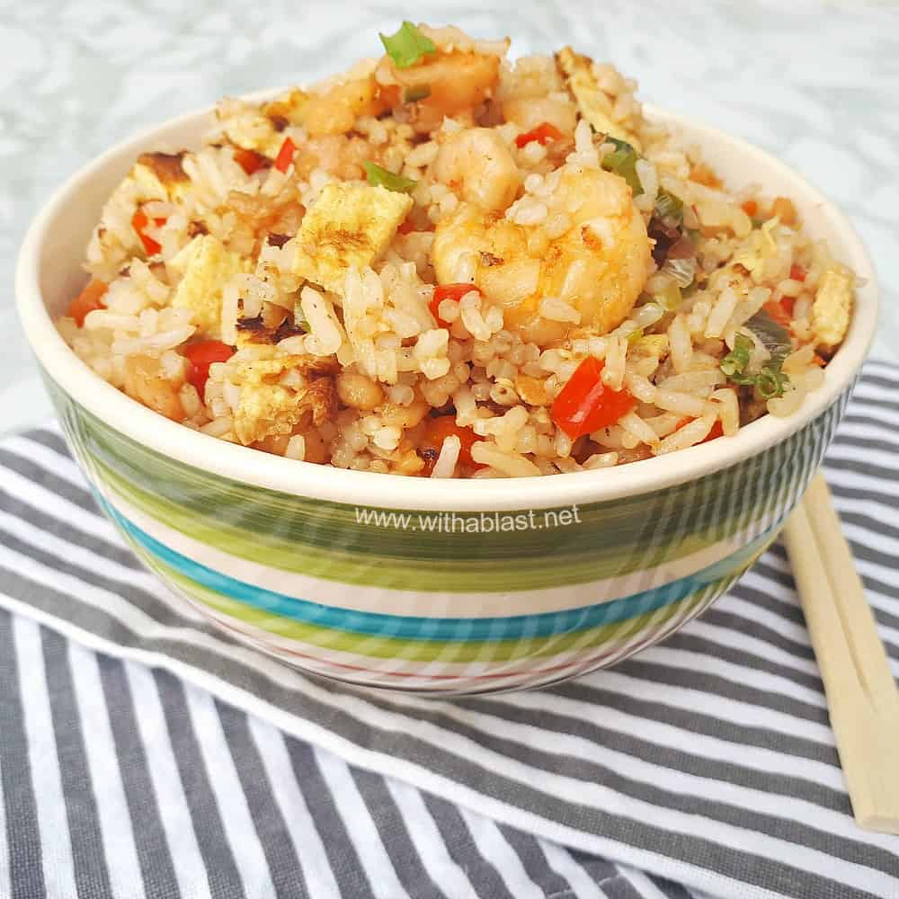 Sweet And Sour Shrimp Fried Rice