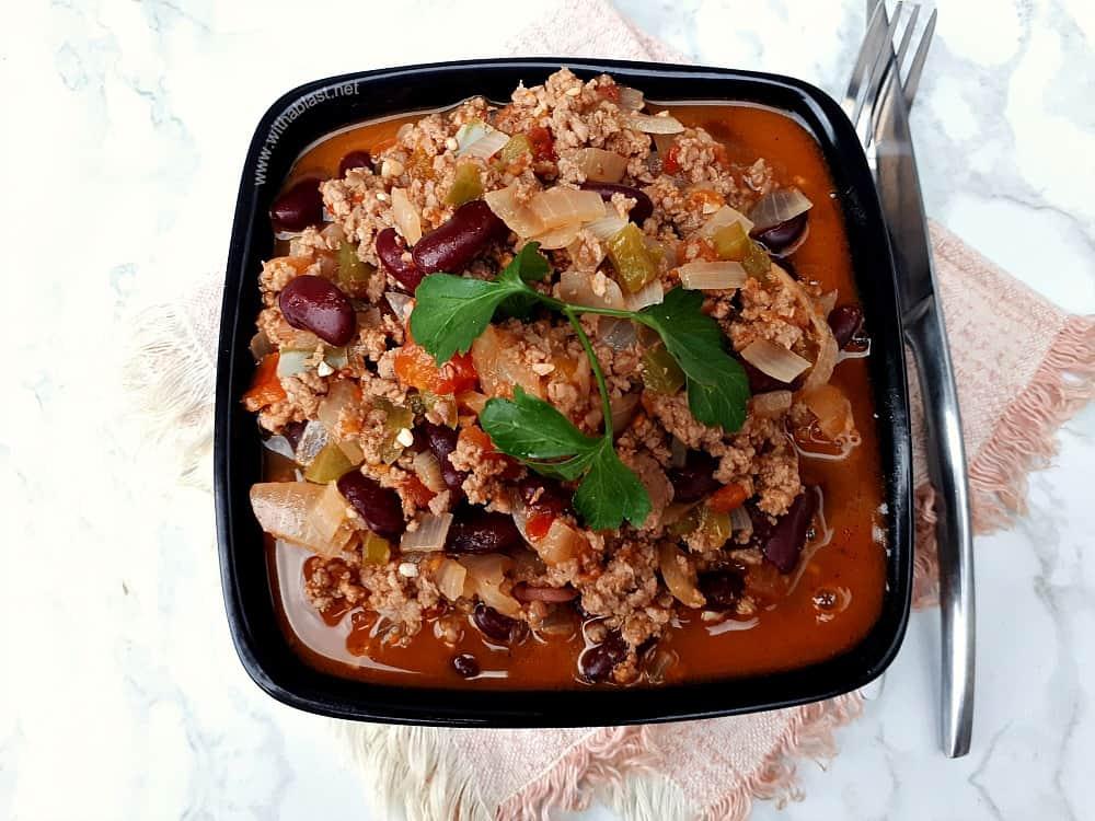 Skinny Chili Con Carne