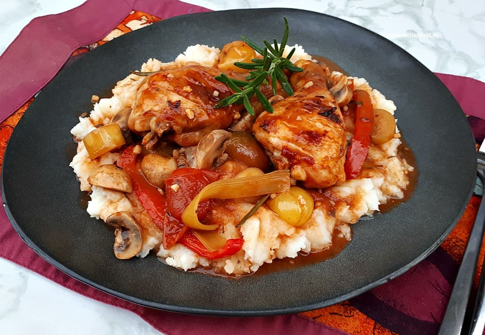 Chicken Cacciatore (Dump and Bake)
