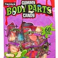 Frankford Halloween Gummy Body Parts Candy, 15.87 OZ