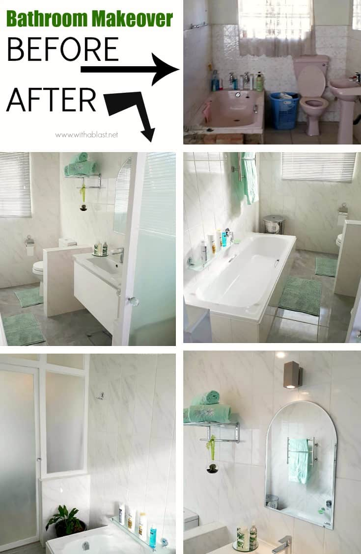 Complete Bathroom Makeover ! With items we splurged on, saved money and must-haves in the bathroom #Bathroom #DIYBathroom #DIY #HomeImprovement #BathroomMakeover #BeforeAndAfterBathrooms