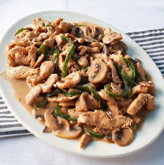 Drunken Chicken Stir-Fry