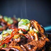 Beef Stir-Fry with Shiitake Mushrooms
