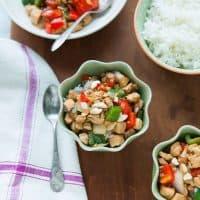 Pepper Chicken with Cashews Stir Fry - The Little Kitchen