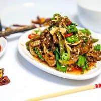 Keto Sichuan Beef and Broccoli