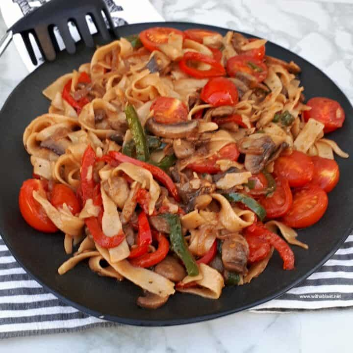 Stir Fried Pasta Side Dish