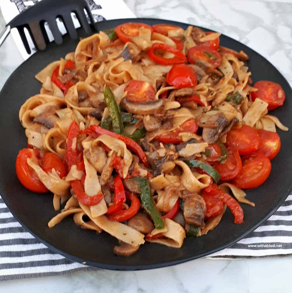 Stir Fried Pasta Side Dish