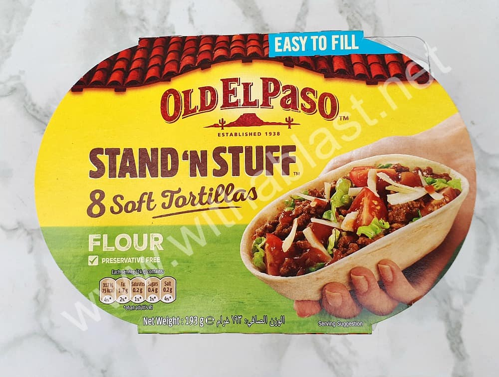 Stand 'N Stuff Soft Tortillas for Spicy Bacon and Egg Breakfast Tacos