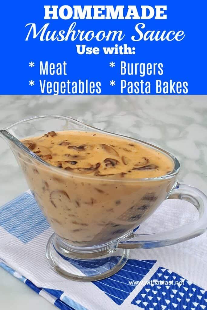 Homemade Mushroom Sauce