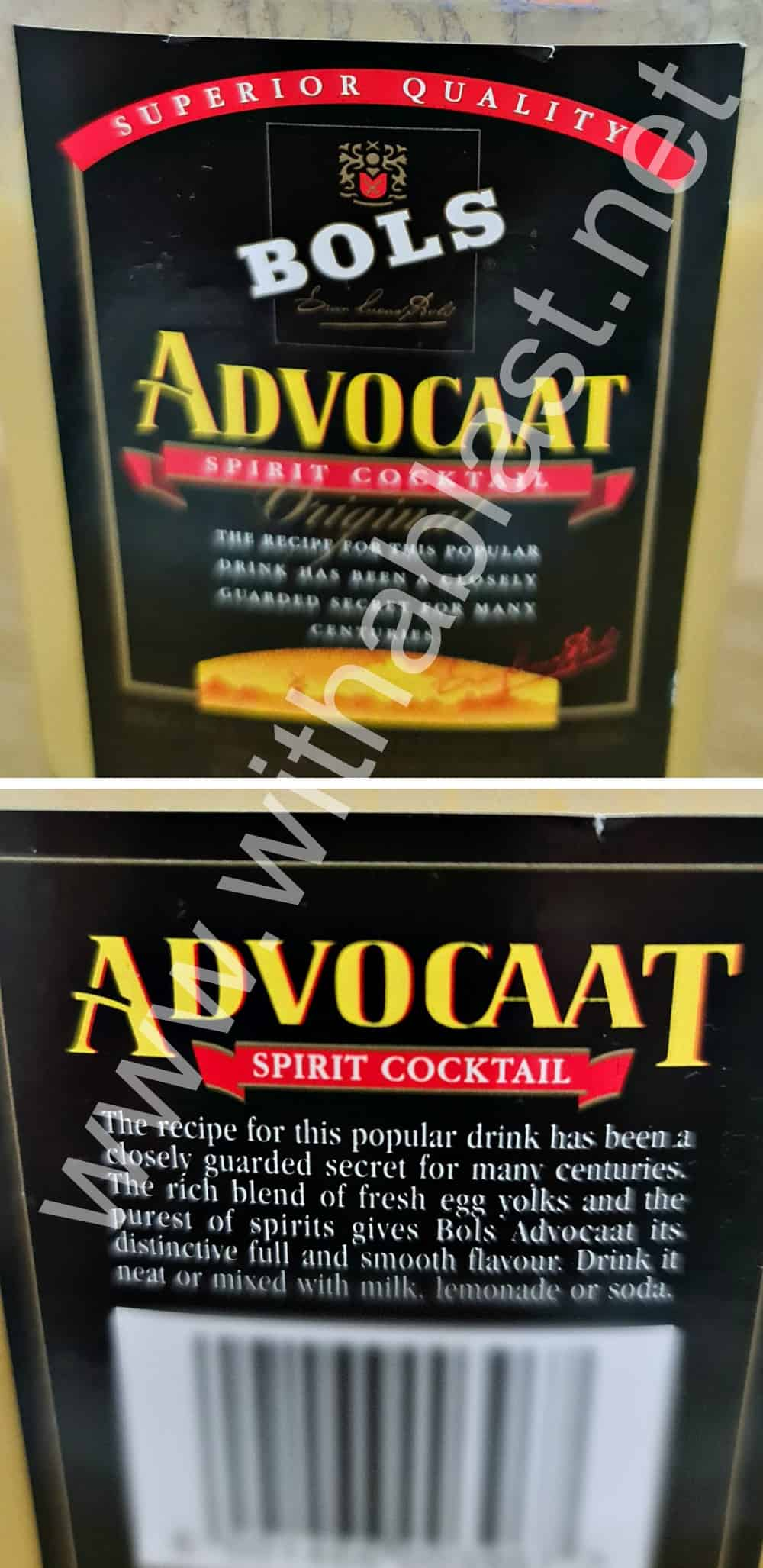 Advocaat Spirit Cocktail