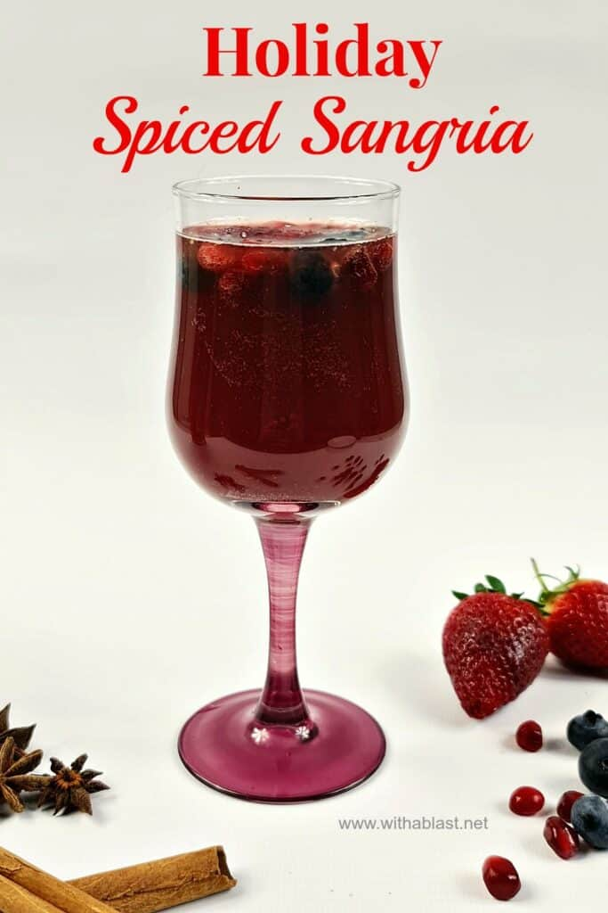 Holiday Spiced Sangria
