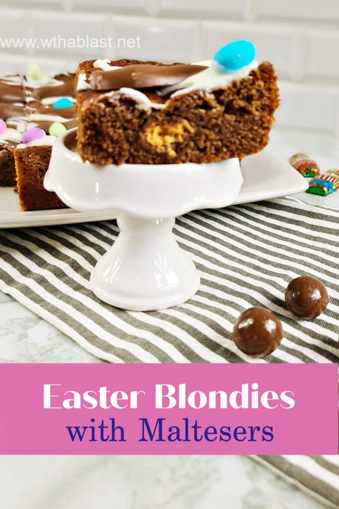 Easter Blondies