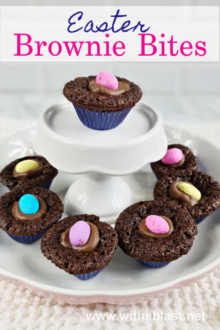 Easter Brownie Bites