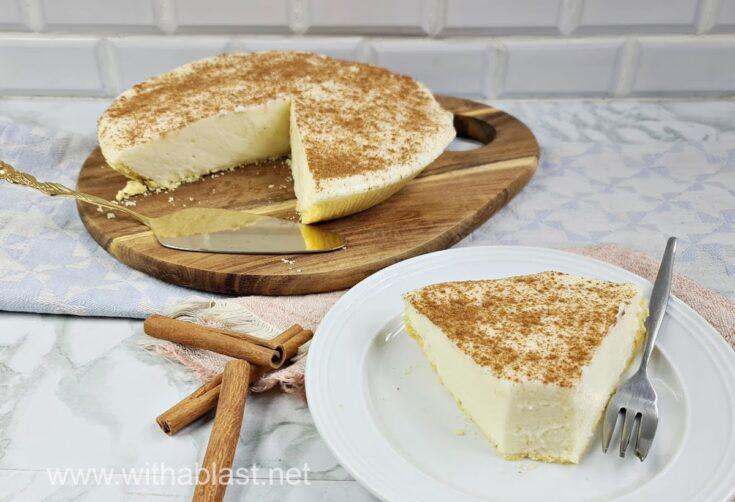Milk Tart (South-African Melk Tert)